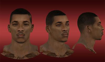 NBA 2K13 Nick Young Cyberface Mod