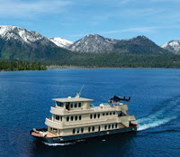 The Sierra Rose yacht sinks in Lake Tahoe