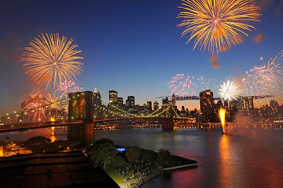 Celebration brooklyn bridge new york city wallpapers