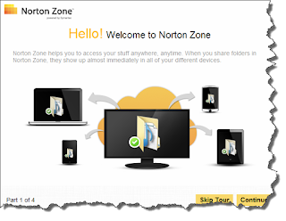 Norton Cloud Storage