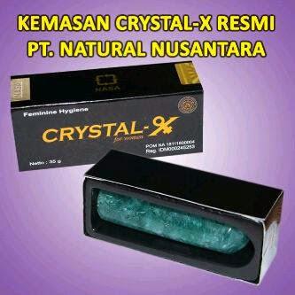 jual cristal x nasa