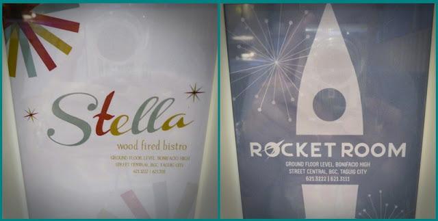 Stella and Rocket Room Logos