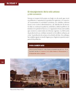 El resurgimiento de la vida urbana y del comercio - Historia 6to Bloque 5 2014-2015