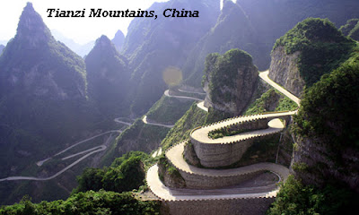Tianzi Mountain - highest point of Golden Triangle