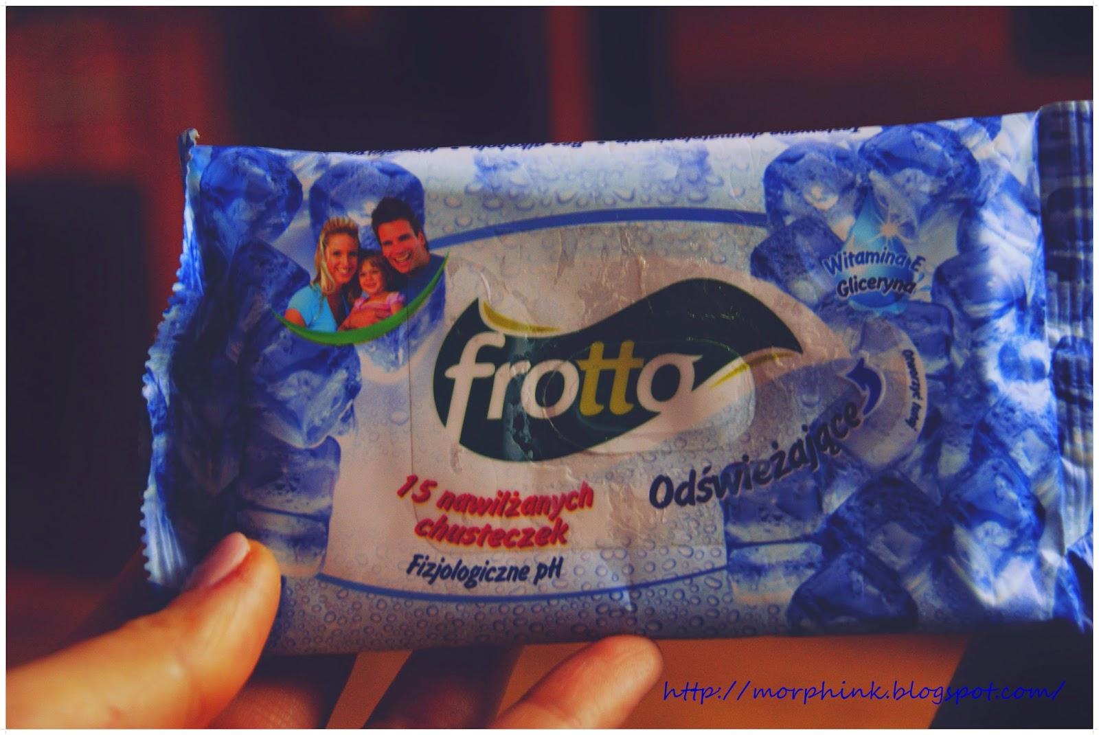 Chusteczki nawilżające Frotto