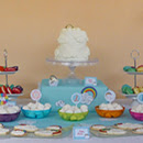 Goûter d'anniversaire Arc-en-ciel / Rainbow sweet table