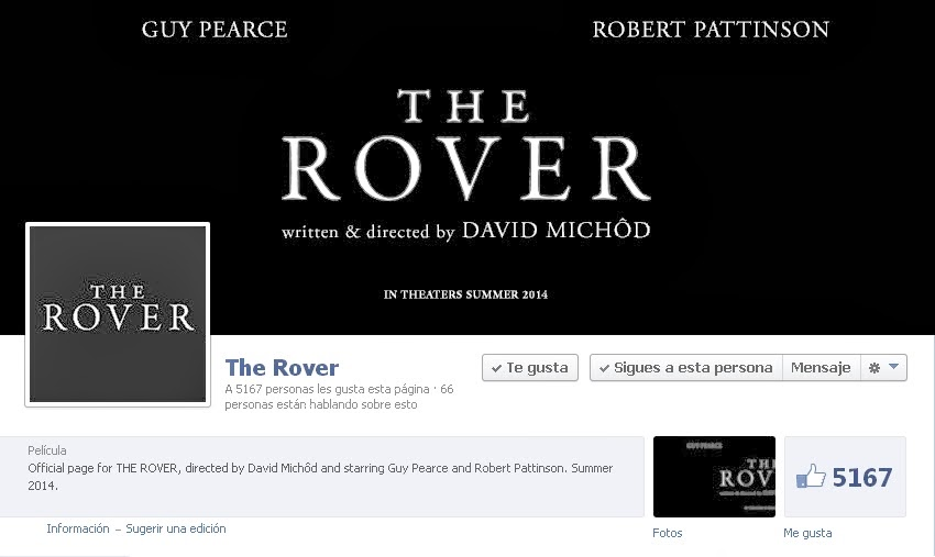 https://www.facebook.com/TheRoverMovie
