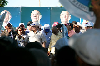 Hipólito Mejía afirma tiene su equipo preparado para defender cada voto que le deposite el pueblo en su favor.