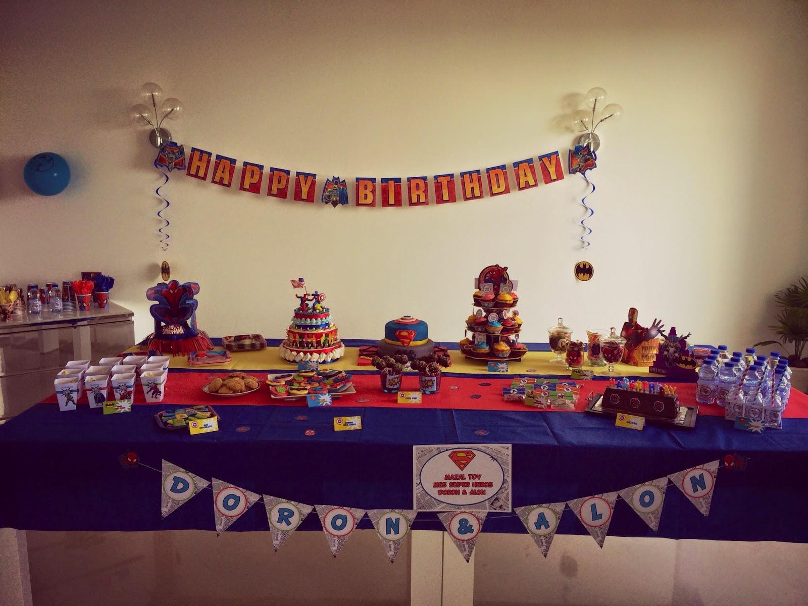 Th me spiderman archives le candy bar - Theme anniversaire garcon ...