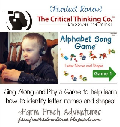 Alphabet Song Game by The Critical Thinking Co.: Product Review