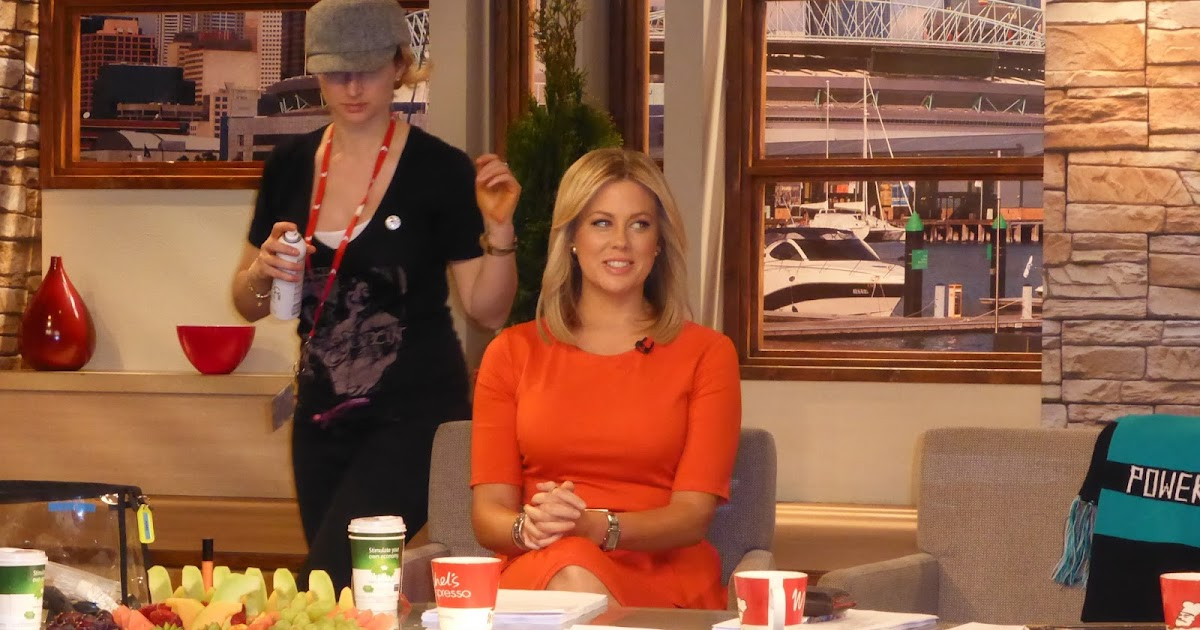 Natalie In Melbourne Channel 7 39 S Sunrise Show