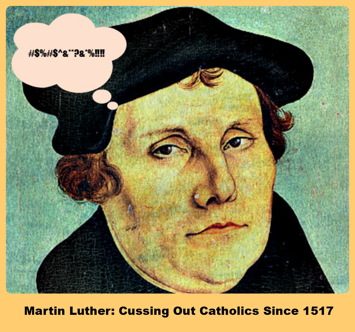 Cursing in the Renaissance: Martin Luther Shows the Way