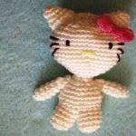patron gratis hello kitty amigurumi | free amigurumi pattern hello kitty