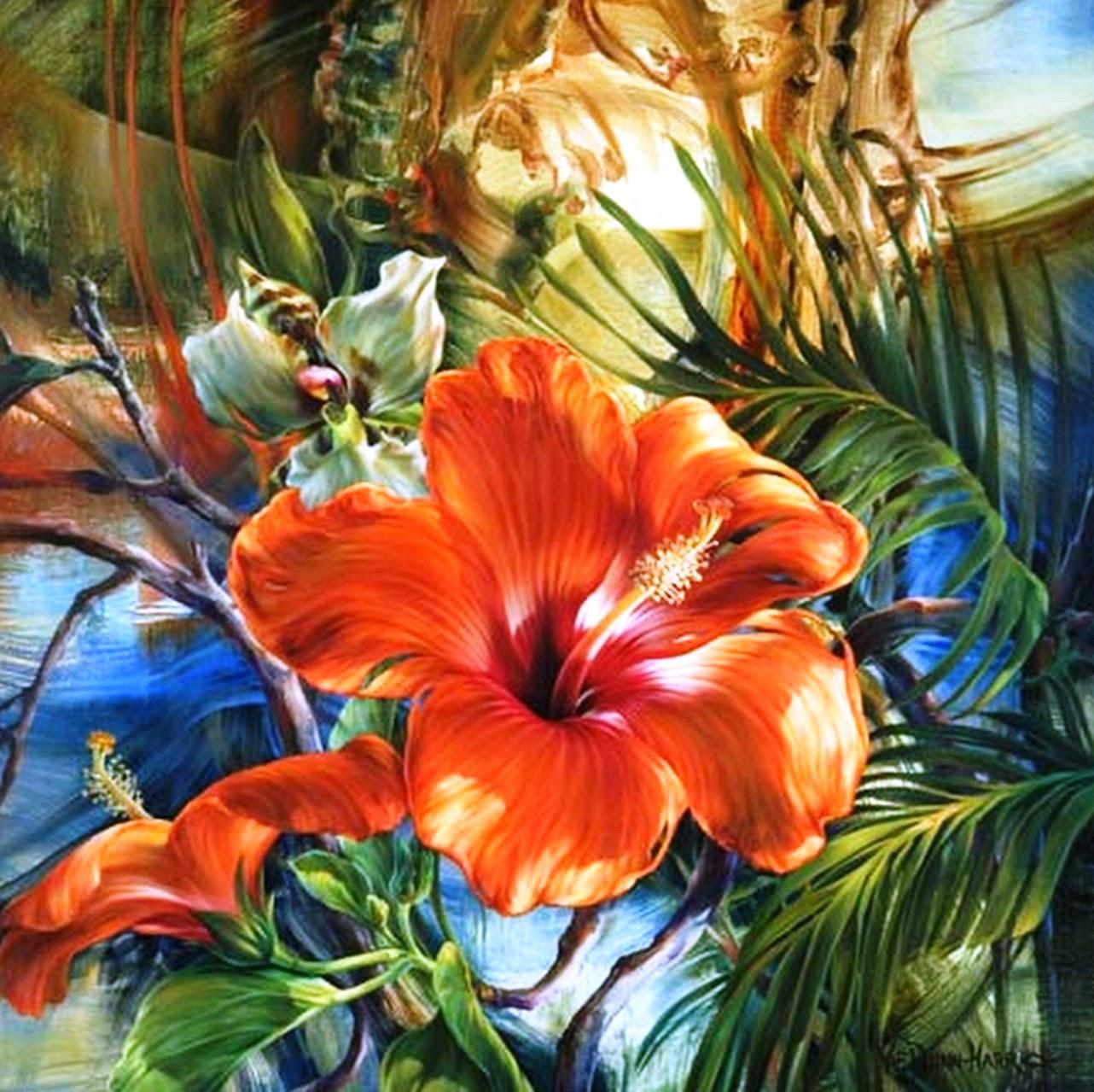 cuadro-de-flores-rojas-pintados-al-oleo