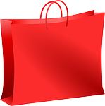 image Red Shopping Bag