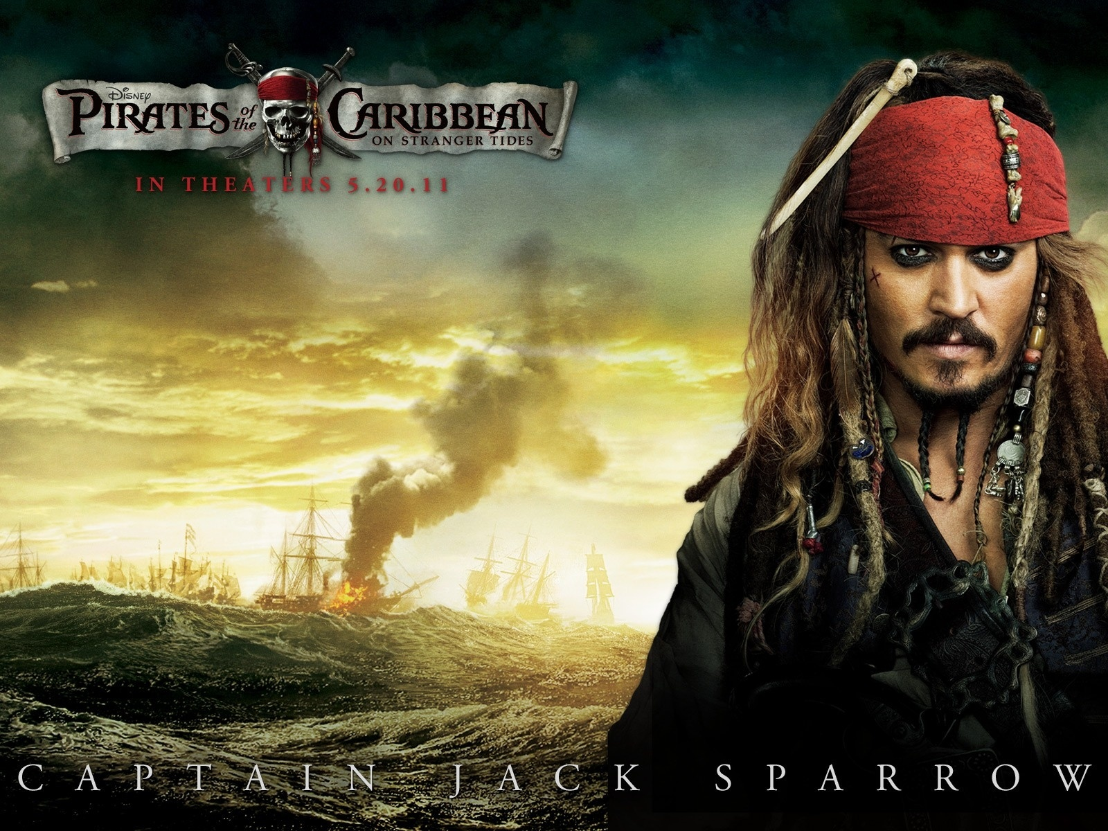 Captain Jack Sparrow 2011