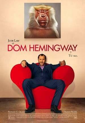 Poster Dom Hemingway 2013
