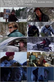 Snow Beast Movie Screen