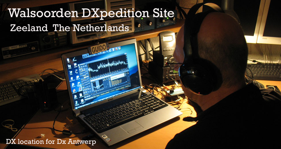 DX Antwerp's Walsoorden Dxpedition Site   Zeeland - The Netherlands