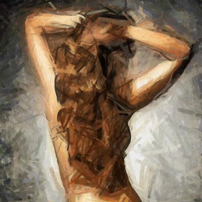 Noia d'esquena (Cristina Cray)
