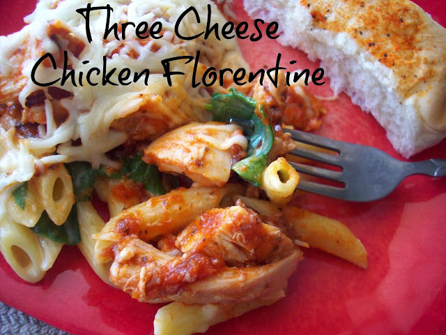three cheese chicken florentine kraft %23shop Dinner Tonight! Three Cheese Chicken Florentine Recipe