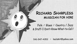 Richard Sharpless, Musician
