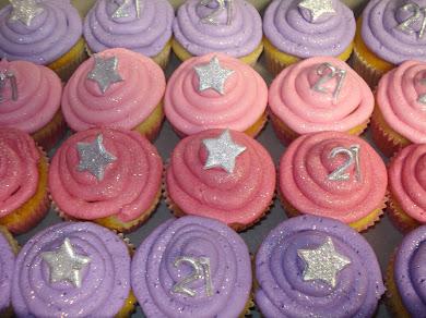 Happy 21st Natalie Cupcakes