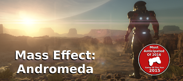 gamedropzone most anticipated game of 2016 mass effect andromeda