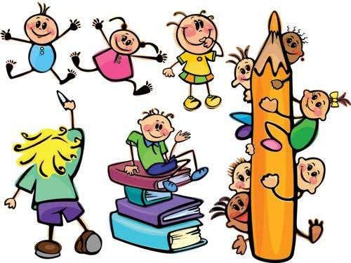Dibujos infantiles de ni os en la escuela imagui for Aprendiendo y jugando jardin infantil