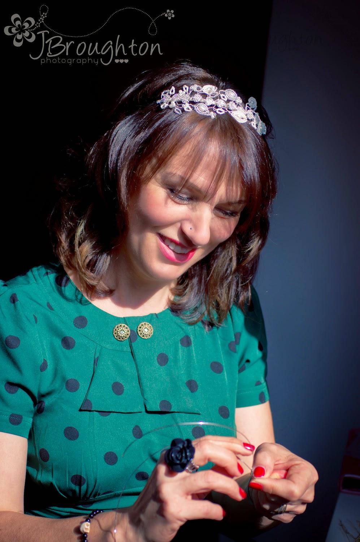 Glorious Tiaras bridal wedding hair accessories Macclesfield Cheshire