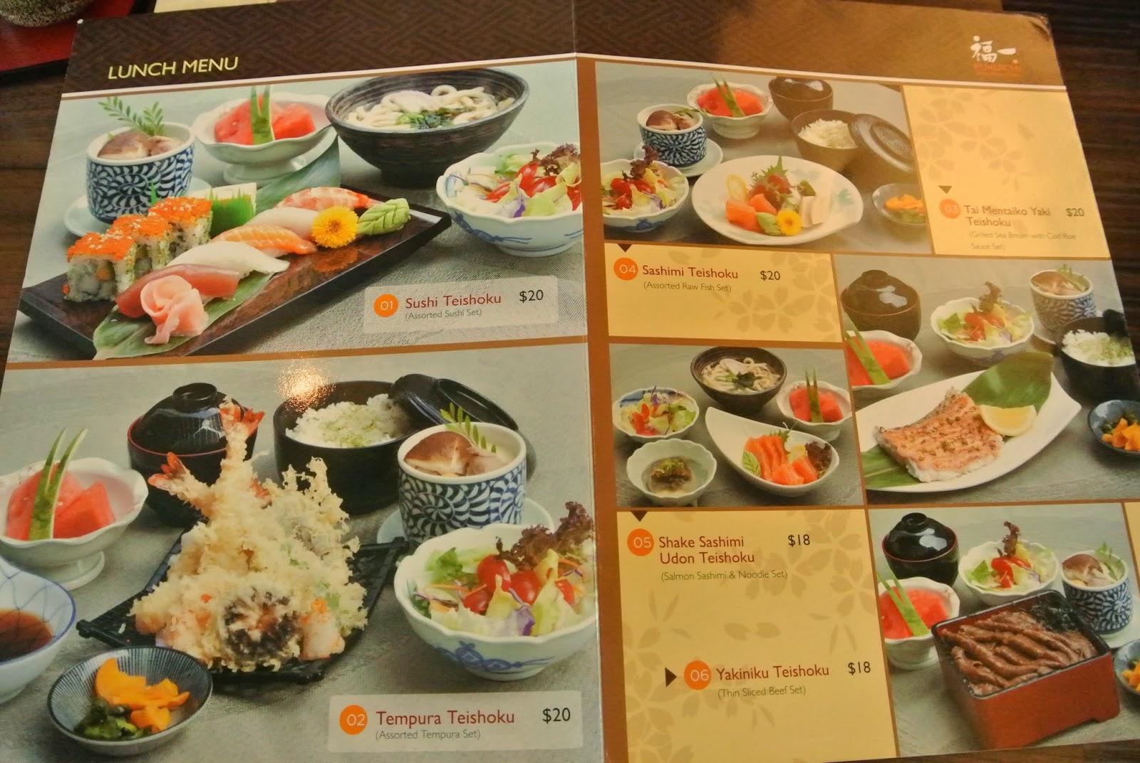 Japanese Dining Set May Fj Love Food Fukuichi Japanese Dining Triple One Somerset