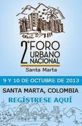 2do Foro Urbano Nacional Colombia