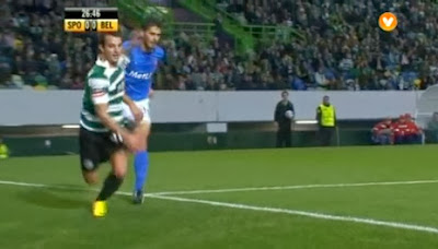 Penalty polémico no Sporting - Belenenses