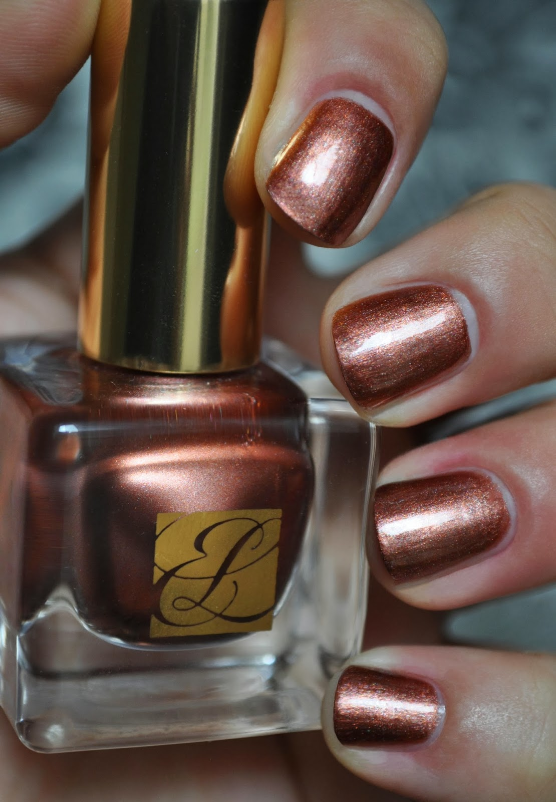 So Lonely in Gorgeous: The Manicure Of Bronze...Estee Lauder Pure ...