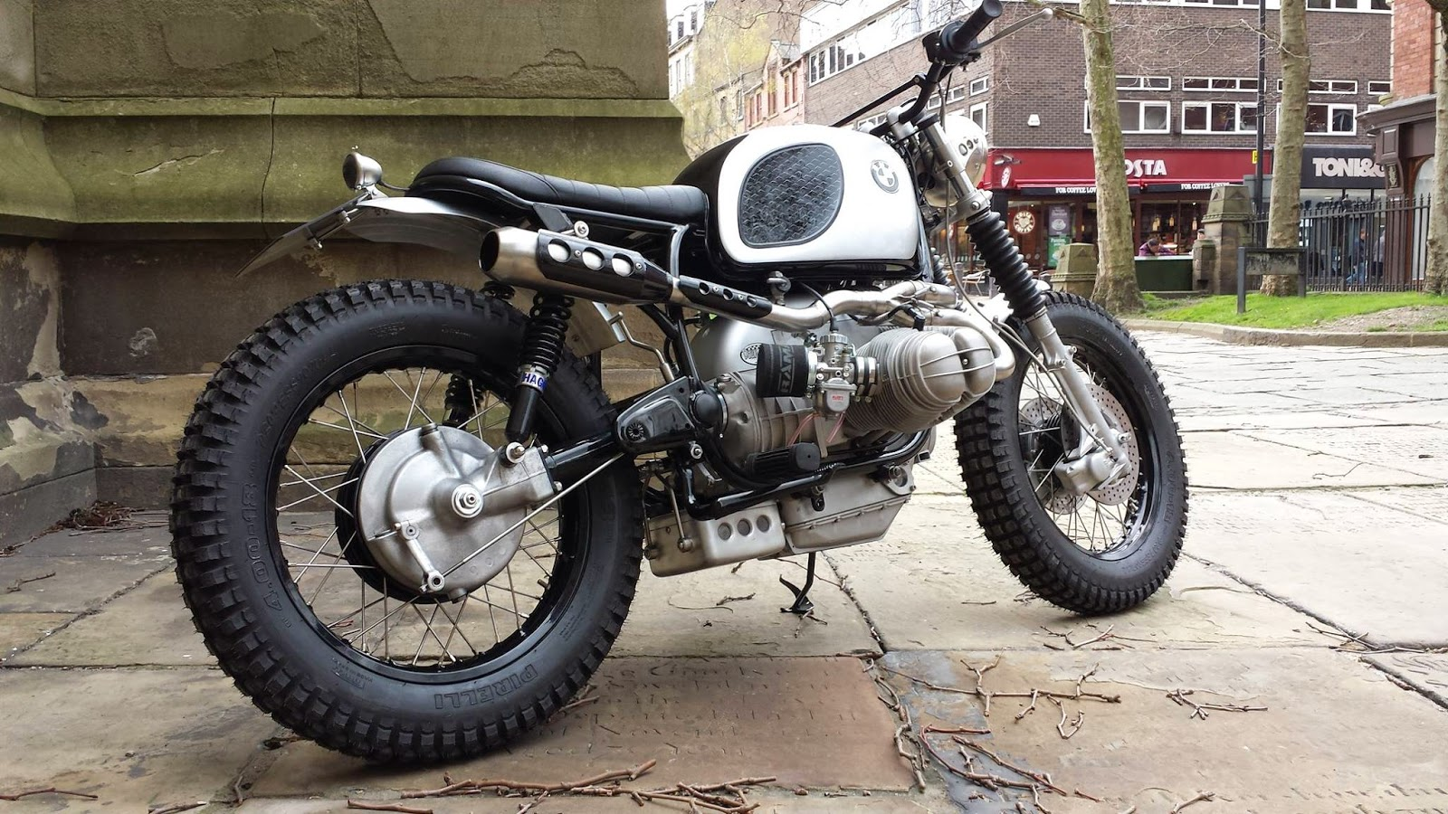 Racing Caf 232 Bmw Scrambler By Down Amp Out Caf 232 Racers