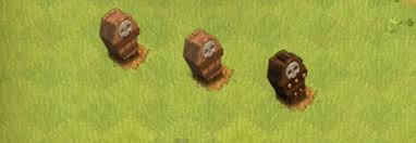 Tombstones Clash of Clans