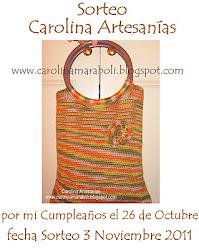 Nuevo sorteo en Carolina Artesana.