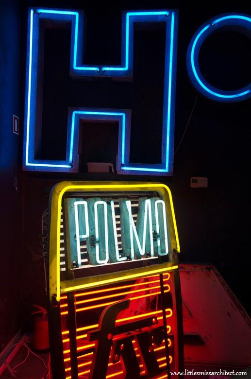 communist polish neon design, neon history, neon museum