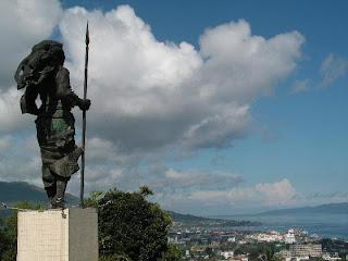 Patung Christina Martha Tiahahu, Lokasi: karang Panjang Ambon