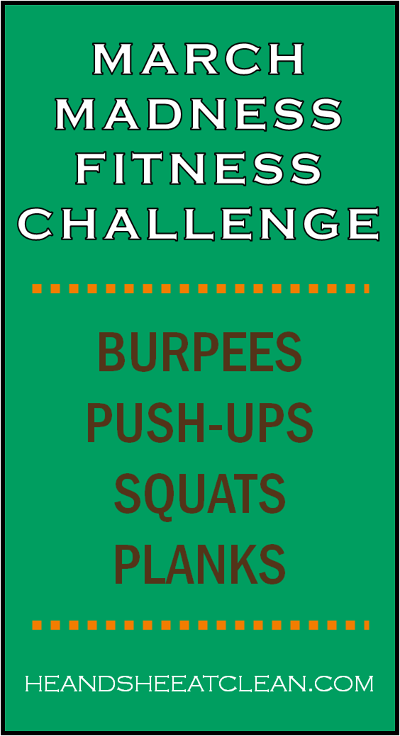 Full Body Workout March Madness Fitness Challenge He