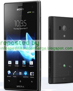 Spesifikasi Sony Xperia Acro S Hp Terbaru 2012