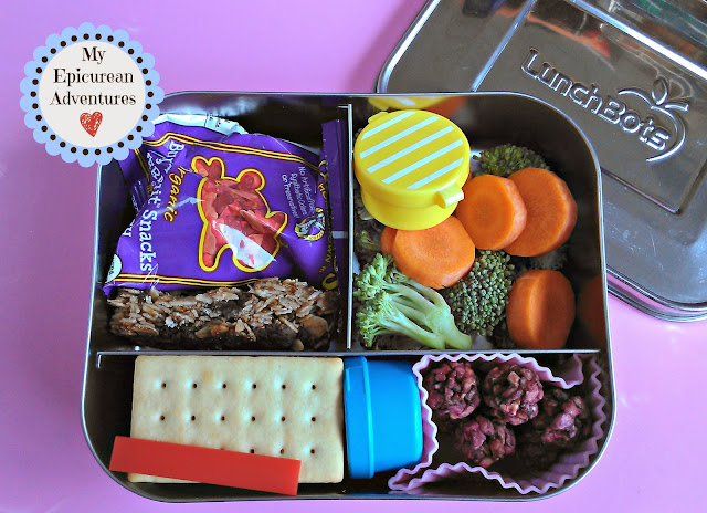 My Epicurean Adventures: Healthy School Snacks #lunchbots