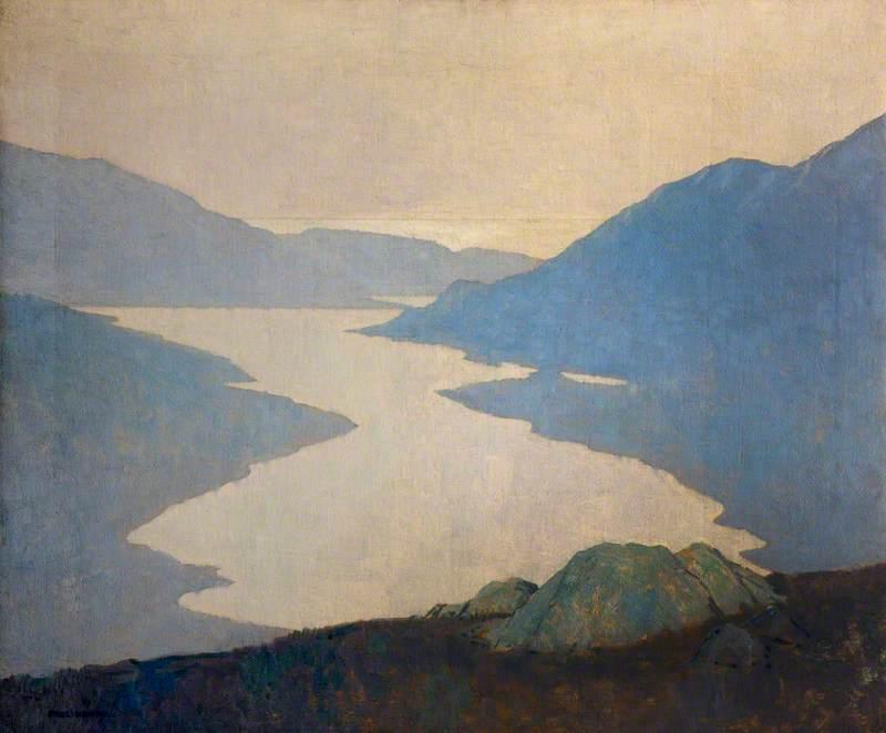 Paul  Henry  R.H.A.  Dawn C  Killary  Harbour
