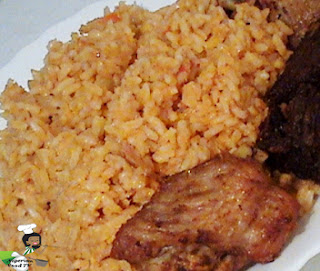 How to Cook Nigerian Coconut Rice , Nigerian Coconut Rice,