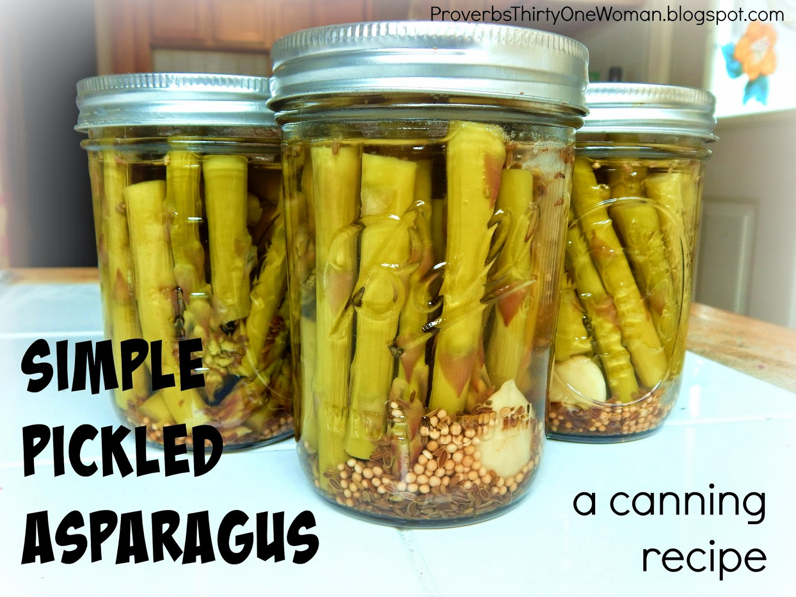 Pickled Asparagus Recipe — Dishmaps