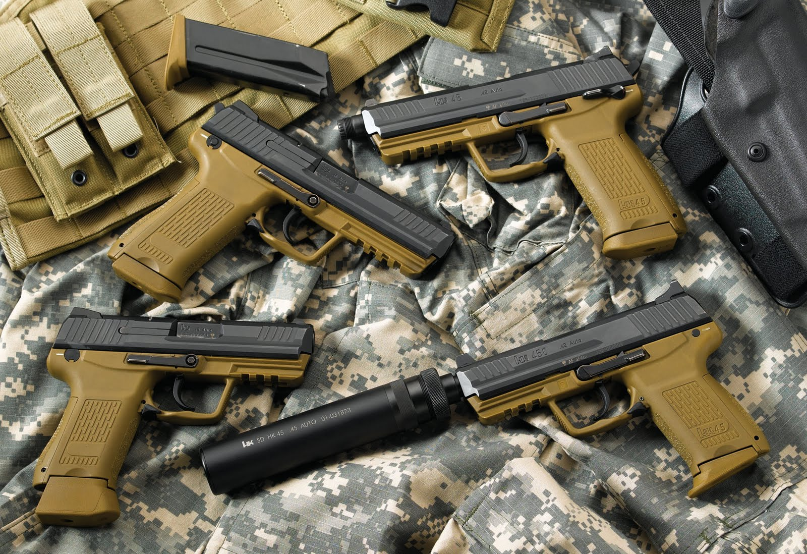Heckler And Koch Wallpaper HK USP HD Wallpapers H...
