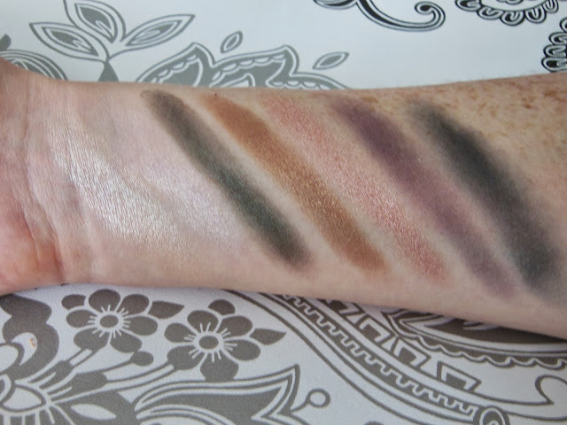 Bare Minerals Ready Convertible eye shadow palette swatches
