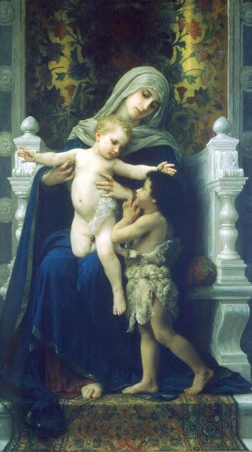 Virgin,Jesus,John the Baptist