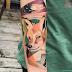 Cores vibrantes e cheias de nuances nas tattoos de Karl Marks