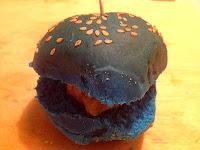 Foto mini hamburguesa
